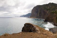 Ponta de Sao Lourenco, la partie située le plus à l'est de l'île de la Madère Photographie stock libre de droits