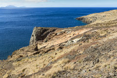 Ponta de Sao Lourenco, la zona oriental de la isla de Madeira, Portu Fotos de archivo libres de regalías