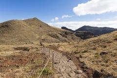 Ponta de Sao Lourenco, la zona oriental de la isla de Madeira, Portu Foto de archivo libre de regalías