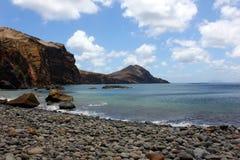 Ponta de Sao Lourenco, Madeira ö, Portugal Royaltyfria Bilder