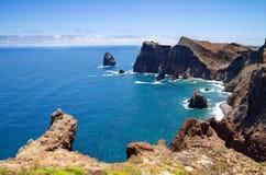 Ponta de Sao Lourenco, Madeira Stock Images