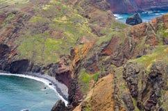 Ponta DE Sao Lourenco schiereiland, het eiland van Madera - Portugal Stock Afbeeldingen