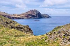 Ponta DE Sao Lourenco schiereiland, het eiland van Madera - Portugal Royalty-vrije Stock Afbeelding