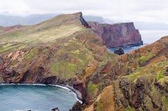 Ponta DE Sao Lourenco schiereiland, het eiland van Madera - Portugal Stock Foto's