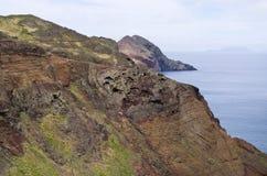 Ponta DE Sao Lourenco schiereiland, het eiland van Madera - Portugal Royalty-vrije Stock Foto's