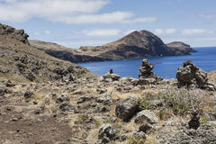 Ponta de Sao Lourenco, zona oriental da ilha de Madeira, Portu Fotografia de Stock Royalty Free