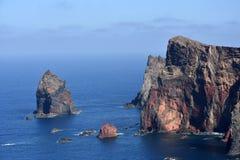 East coast of Madeira island, Ponta de Sao Lourenzo Royalty Free Stock Photo