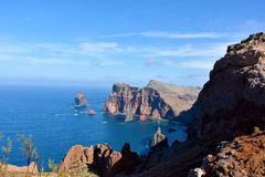 East coast of Madeira island, Ponta de Sao Lourenzo Stock Photography