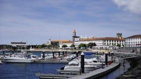 Ponta Delgada Stockbild