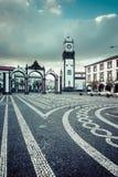 Ponta Delgada, Azoren, Portugal - 20. April 2015: Portas DA Cida Stockfoto