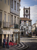 Ponta Delgada city centre Stock Photography