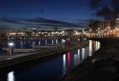 Ponta Delgada, Damm azoren Stockfoto