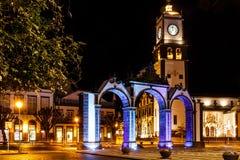 Ponta Delgada, S Miguel, Azzorre Fotografia Stock Libera da Diritti