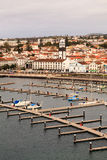 Ponta Delgada Waterfront Stock Image