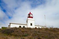 Ponta do Pargo lighthouse, Madeira. Stock Photos
