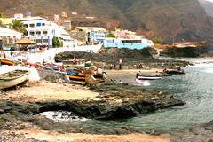 Ponta do Sol in Cape Verde Royalty Free Stock Images