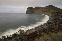 Ponta DOS Capelinhos, Faial-Insel, Azoren, Portugal Lizenzfreie Stockbilder