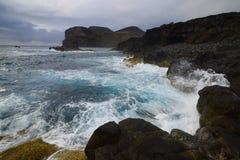 Ponta dos Capelinhos, Faial island, Azores, Portugal Stock Image