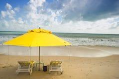 ponta negra пляжа натальное Стоковое фото RF