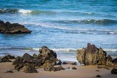 Cities of Brazil - Natal, RN. Ponta Negra Beach and Morro do Careca - Natal, Rio Grande do Norte, Brazil Stock Photos