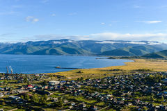Ponta ocidental do Lago Baikal Imagens de Stock