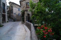 Pontaix, drome, Francia Fotografia Stock