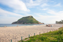 Pontal Beach in Rio stock photo
