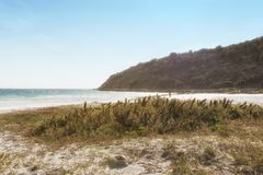 Pontal wyrzucać na brzeg, Arraial robi Cabo - stan Rio De Janeiro, Brazylia Zdjęcie Royalty Free
