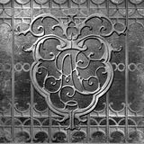 Pontalba New Orleans Jackson Square Wrought Iron Stock Fotografie