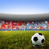 Pontapé de grande penalidade do futebol Imagem de Stock