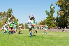 Pontapé do rugby Imagens de Stock Royalty Free