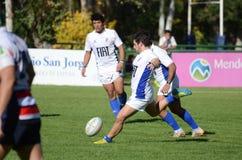Pontapé do rugby Fotos de Stock