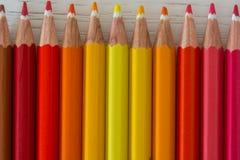 Pontas coloridas do pastel Fotos de Stock Royalty Free