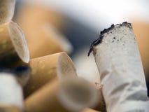 Pontas de cigarro Fotos de Stock