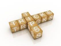 Pontas e símbolo dos truques Imagem de Stock Royalty Free