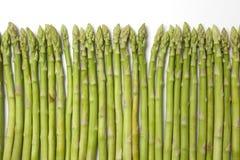 Pontas finas verdes saudáveis dos espargos Imagem de Stock Royalty Free