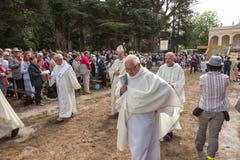 Pontchateau, França - 11 de setembro de 2016: Celebração de 300 ann Imagens de Stock