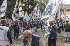 Pontchateau, Francia - 11 settembre 2016: Una celebrazione di 300 Ann Immagini Stock