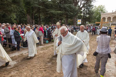 Pontchateau, Frankreich - 11. September 2016: Feier von 300 Ann Stockbilder