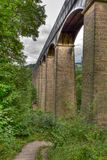pontcysyllte мост-водовода Стоковое фото RF