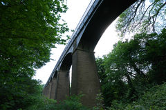Pontcysyllte akvedukt Llangollen Wales UK Royaltyfri Bild
