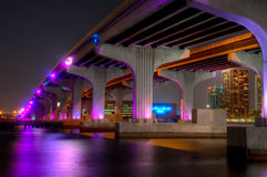 Ponte à cidade Imagens de Stock Royalty Free