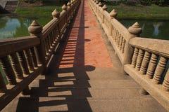 A ponte é linhas principais Fotos de Stock