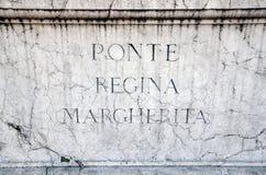 Ponte Регина Margherita Стоковое Фото