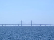 Ponte 06 de Oresund Foto de Stock Royalty Free