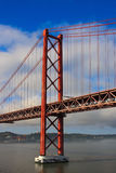 Ponte 25 de Abril Stock Images