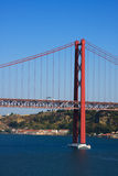 Ponte 25 De Abril Zdjęcie Royalty Free