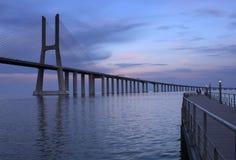 Ponte 25 DE Abril Royalty-vrije Stock Foto's