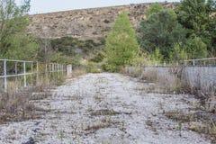 Ponte abandonada Fotografia de Stock