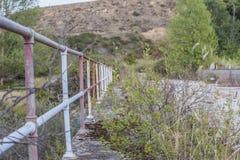 Ponte abandonada Foto de Stock